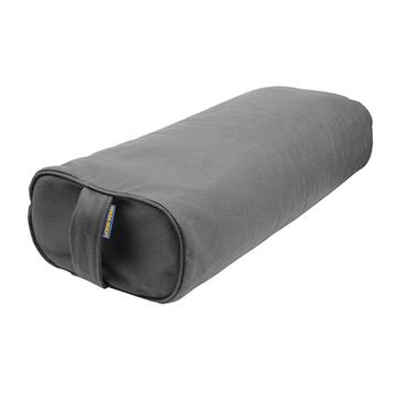 Cotton Buckwheat Rectangular Bolster | Grey