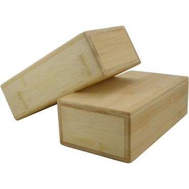 Fitness-Mad Hollow Bamboo Yoga Brick