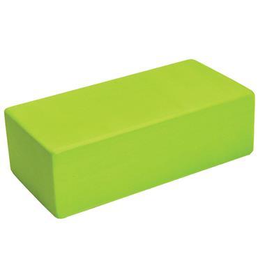 Fitness-Mad Hi-Density Yoga Brick  | Lime Green
