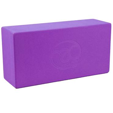 Fitness-Mad Hi-Density Yoga Brick  | Purple