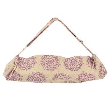 Yoga-Mad Mandala Patterned Yoga Mat Bag