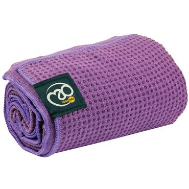 Fitness-Mad Grip Dot Yoga Towel | Purple