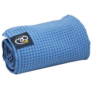 Fitness-Mad Grip Dot Yoga Towel | Sky Blue