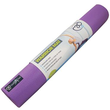 Fitness-Mad Warrior Yoga Mat | 4mm (Purple)