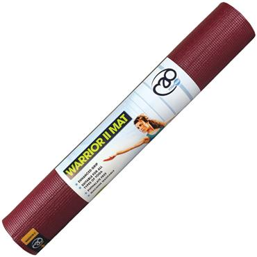 Fitness-Mad Warrior II Yoga Mat | 4mm (Burgundy)