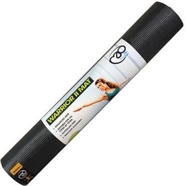 Fitness-Mad Warrior II Yoga Mat | 4mm (Graphite)