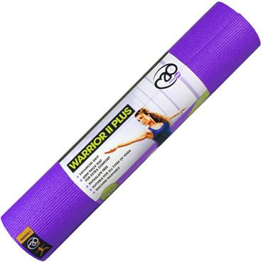 Warrior II Plus Yoga Mat | 6mm (Purple)