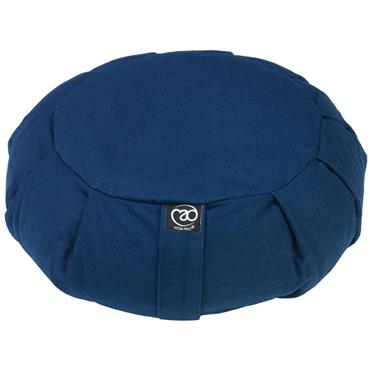 Fitness-Mad Pleated Round Zafu Cushion | (BLUE)