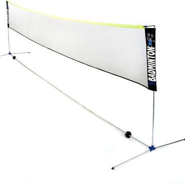 Zsignet Badminton 6m Posts & Net Only