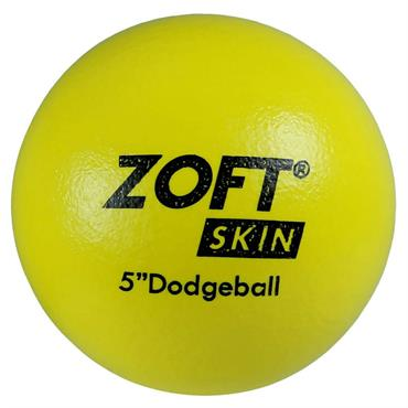 "First-play Zoftskin 5"" Dodgeball"