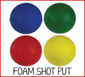 Foam Shot Put