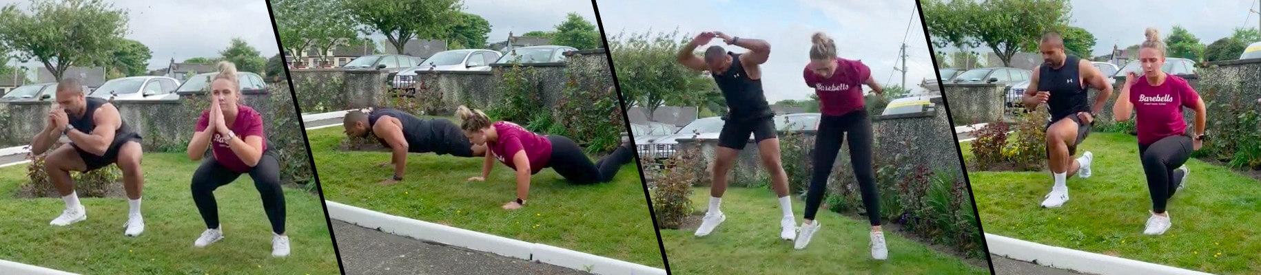 Aaron Smyth Partner Workout