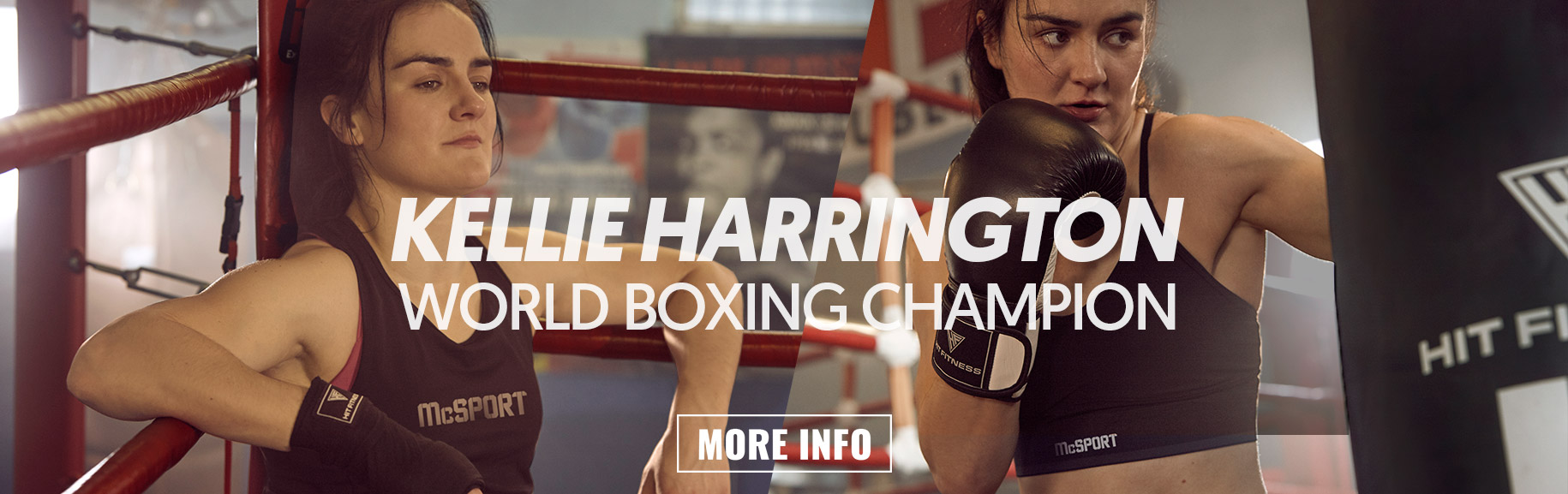 Kellie Harrington Banner