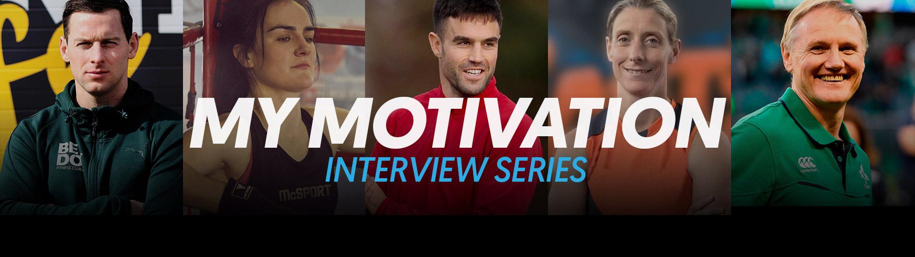 My Motivation Interview Series Header