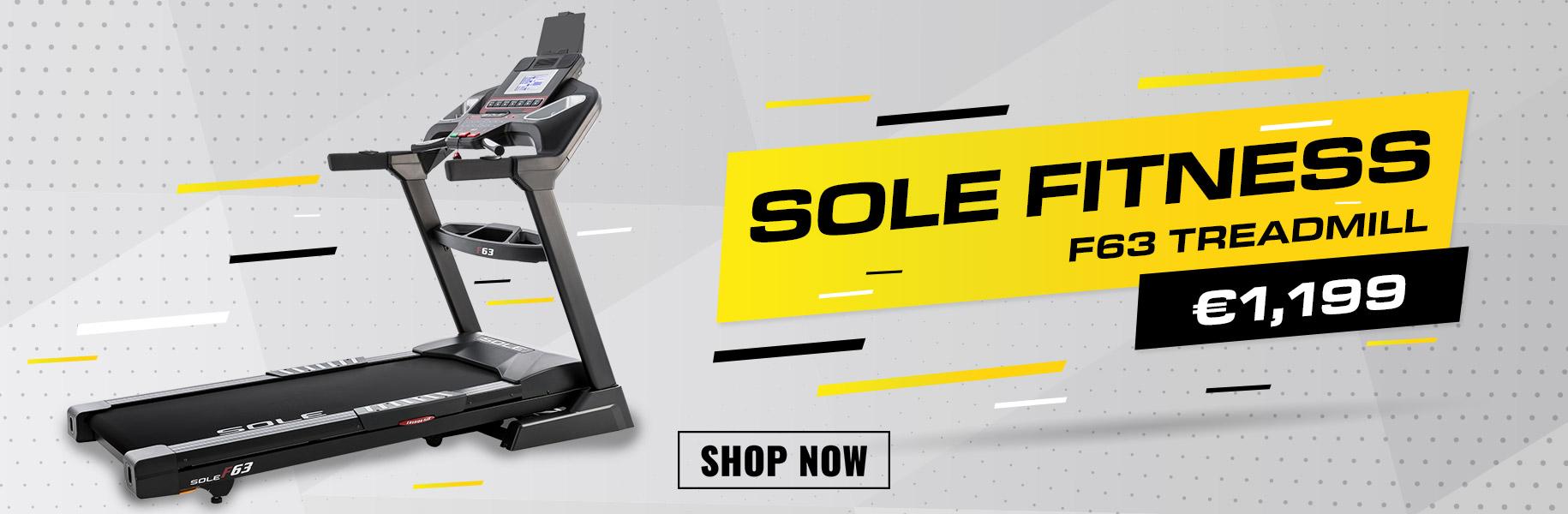 Sole F63 Treadmill Image