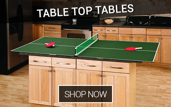 Table Tennis Table Tops