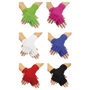 Fingerless Gloves - 80's Style