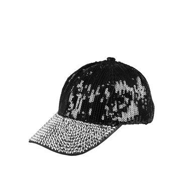 Black Bling Cap