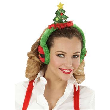 Christmas Tree Ear Muffs