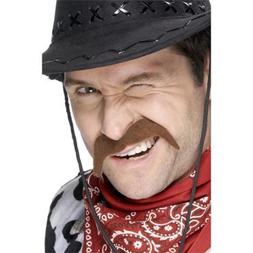 Brown Cowboy Tash
