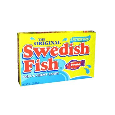 Swedish Fish Sweets (88g) - Theatre Box