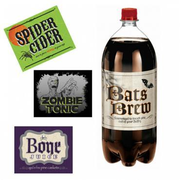 Shocktails 2-Litre Bottle Labels