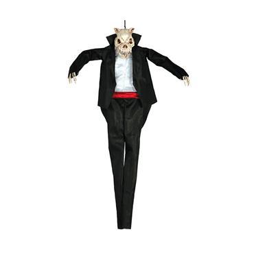 90cm Hanging Dog Skeleton
