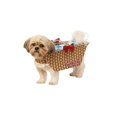 Toto in a Basket Pet Costume
