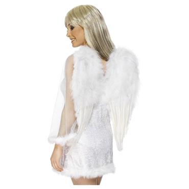 WINGS FEATHER ANGEL WHITE 50cm