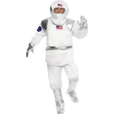 White Spaceman Costume
