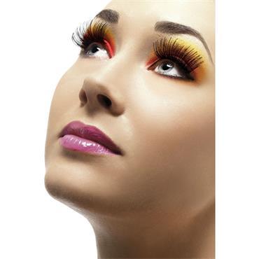 Eyelashes, Adhesive, Black