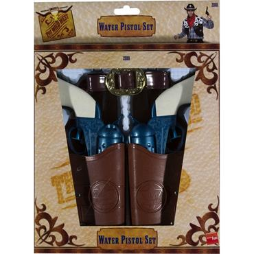 Western Water Pistol, Holsters & Belt