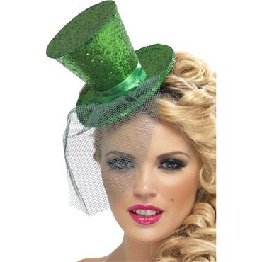 Fever Mini Top Hat - Green
