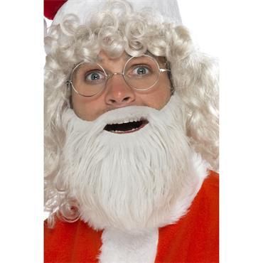 Santa Beard - Pearl Grey