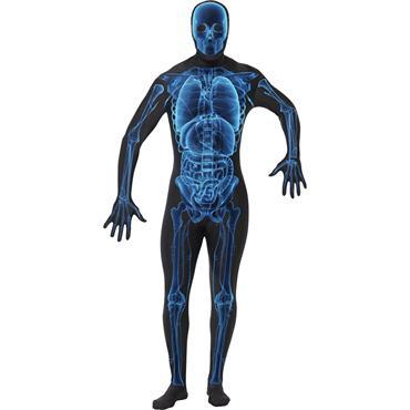 X Ray Skeleton Second Skin Costume