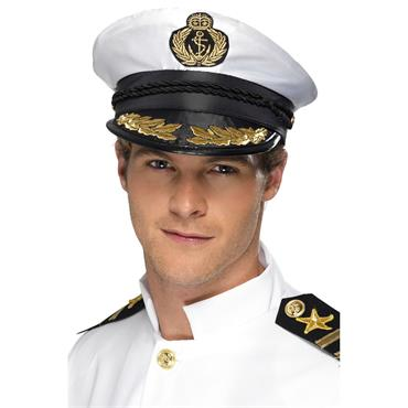 Captains Cap, White