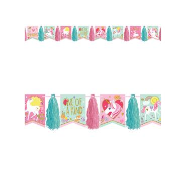 Unicorn Tassel Garland (3m)