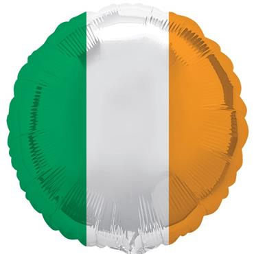 "Ireland Tricolour Foil Balloon (18"")"