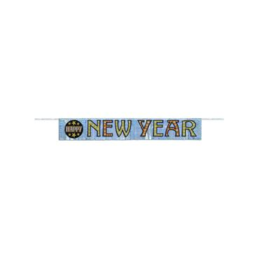 New Year Foil Fringe Banner (4.75ft)
