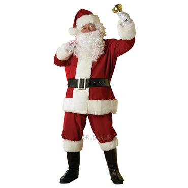 Regal Plush Santa Suit