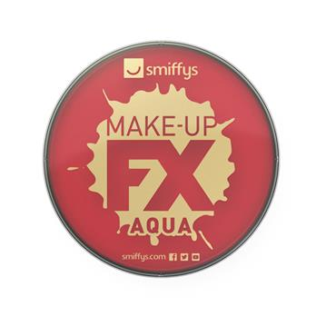 Make-Up Fx, Aqua Face and Body Paint, Bright Red