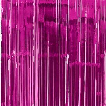 Glitter Curtain - Bright Pink