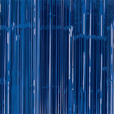 Glitter Curtain - Bright Royal Blue