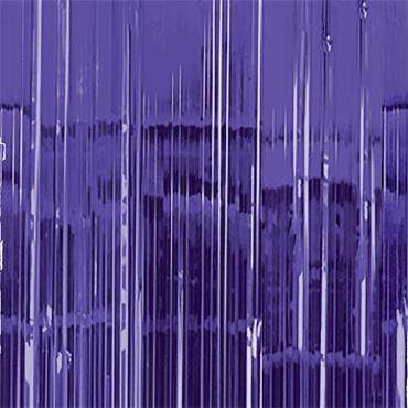 Glitter Curtain - Purple