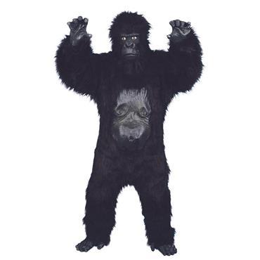 Gorilla Deluxe Costume, Black