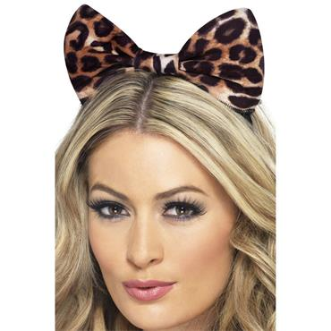 Cheetah Bow & Headband