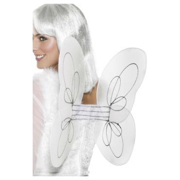 WINGS ANGEL WHITE NET Silver G