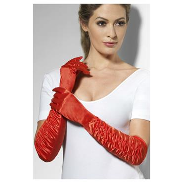 GLOVES Temptress Red Long 18 i