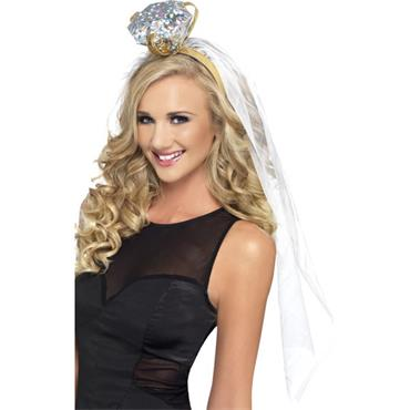 Hen Night Ring Veil