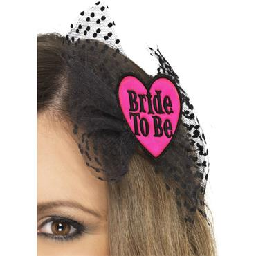 Bride to Be Hair Bow